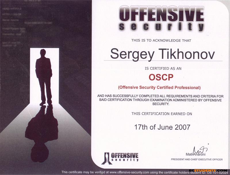 Offensive Security Certified Professional Best Deals